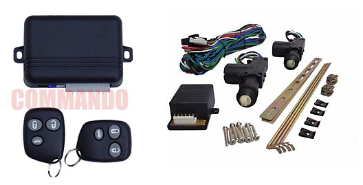 Keyless Entry with 2 Door Power Lock Kit