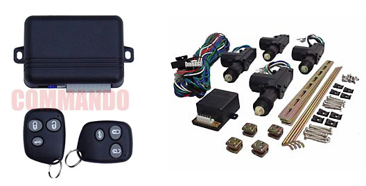 Keyless Entry with 4 Door Power Lock Kit