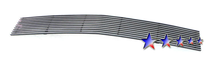 Lincoln Mkx  2007-2010 Polished Lower Bumper Aluminum Billet Grille
