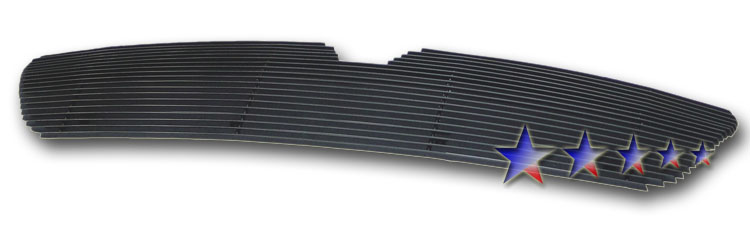 Lincoln Navigator  2003-2006 Black Powder Coated Main Upper Black Aluminum Billet Grille