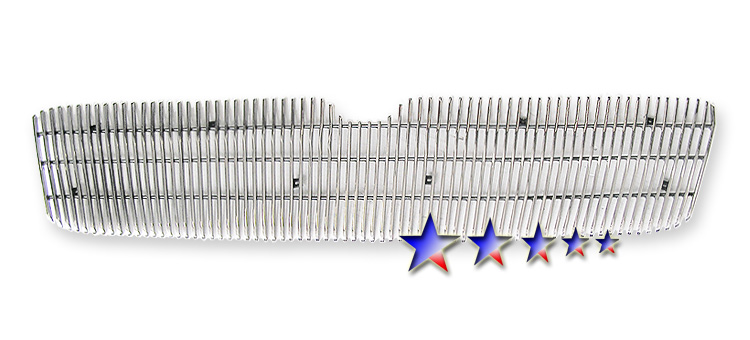 Lincoln Navigator  2003-2006 Polished Main Upper Aluminum Billet Grille