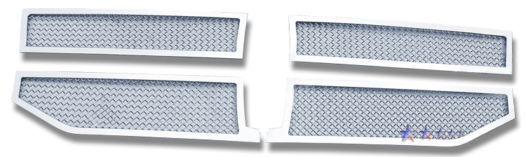 Lincoln Navigator  2007-2012 Chrome Main Upper Mesh Grille