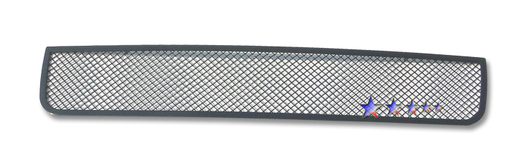 Lincoln Navigator  2003-2004 Black Powder Coated Lower Bumper Black Wire Mesh Grille