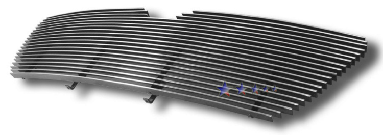 Lincoln Navigator 05-06 Polished Aluminum Main Front Grill