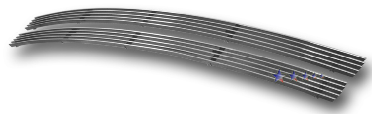 Lincoln Navigator  2005-2006 Polished Lower Bumper Stainless Steel Billet Grille