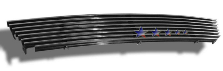Lincoln Aviator  2003-2005 Polished Lower Bumper Aluminum Billet Grille