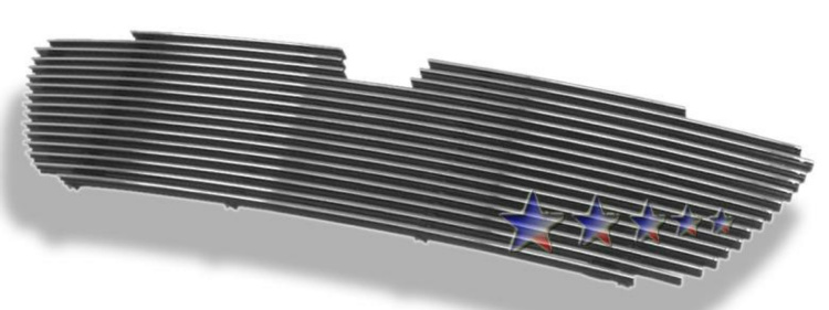 Lincoln Navigator  1998-2002 Polished Main Upper Aluminum Billet Grille