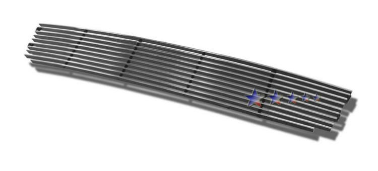 Lincoln Navigator  2003-2004 Polished Lower Bumper Stainless Steel Billet Grille