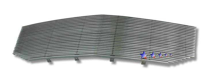 Lincoln Navigator  2007-2012 Polished Main Upper Aluminum Billet Grille