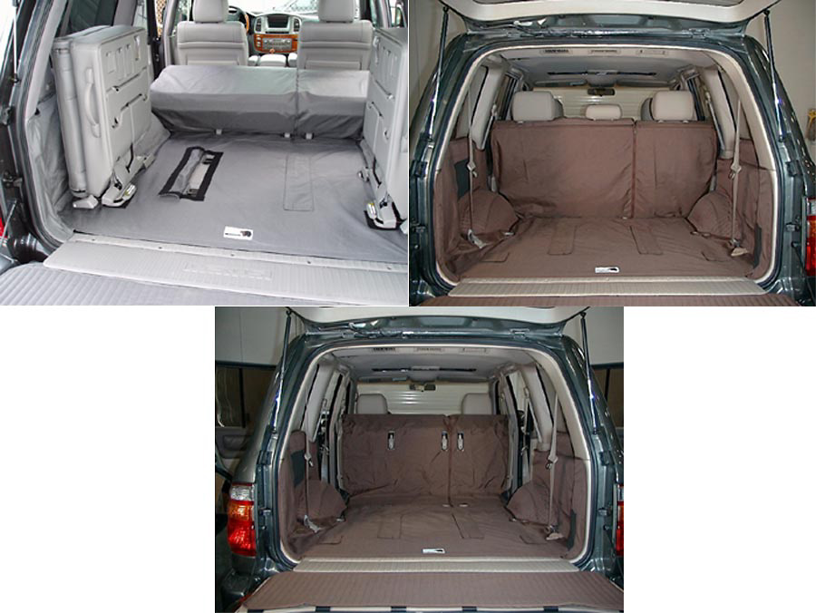 Lexus LX470 99-05 Cargo Liner, models w/ Liftgate, 40/20/40 2nd Row Bench, 3rd Row Bench