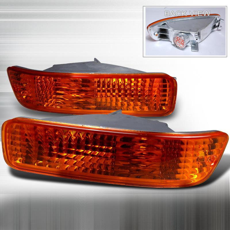 Acura Integra 1992-1993 Amber Bumper Lights