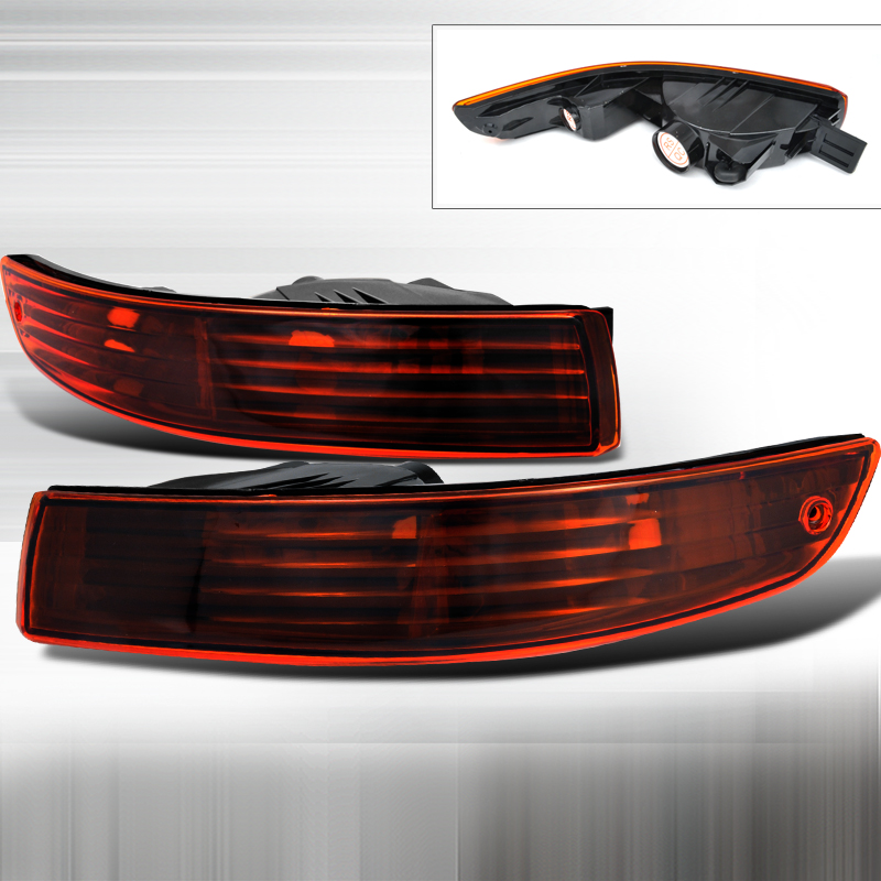 Acura Integra 1994-1997 Smoke / Amber Bumper Lights