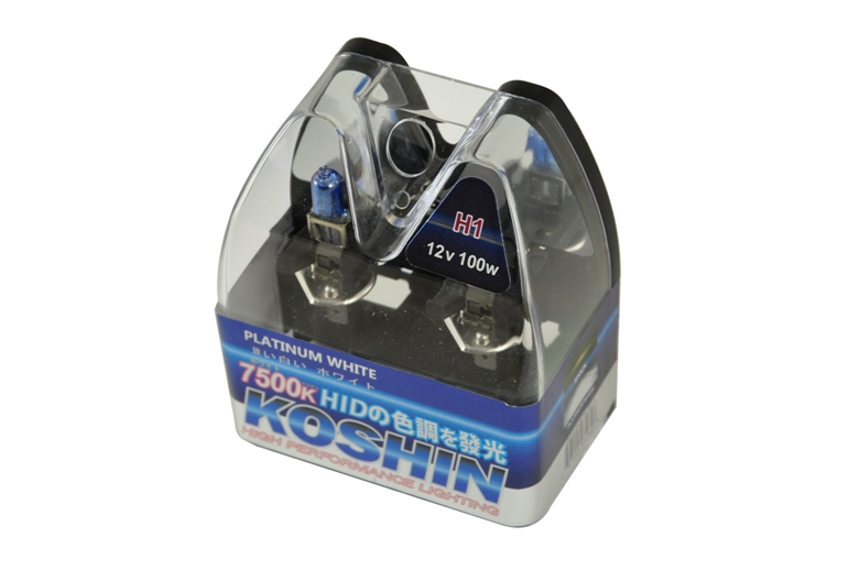 Koshin H1 Platinum White Halogen Light Bulbs 12v 100w