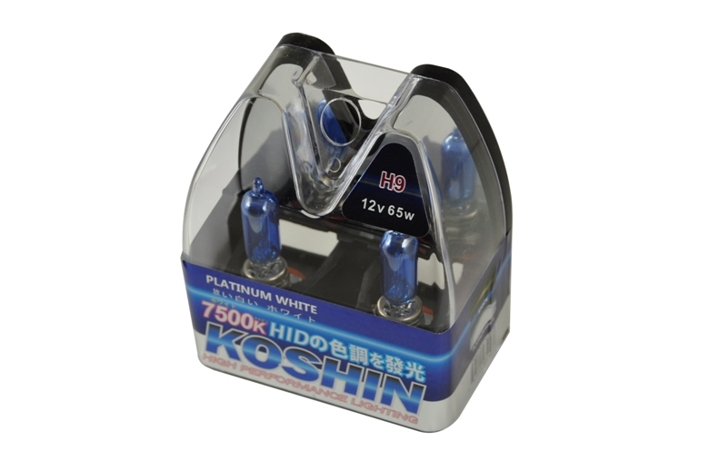 Koshin H9 Platinum White Halogen Light Bulbs 12v 65w