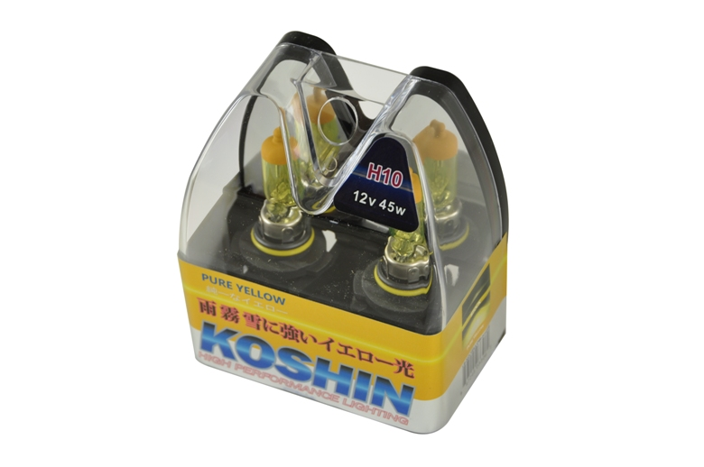 Koshin H10 Hyper Yellow Halogen Light Bulbs 12v 42w