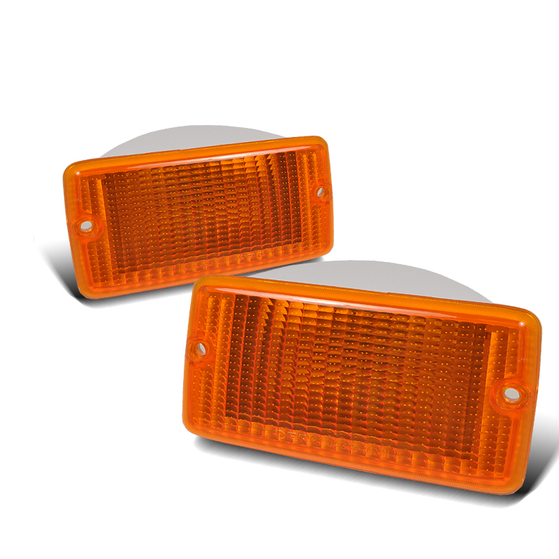 Jeep Wrangler 1997-2006 Amber Bumper Lights