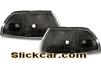 Acura Integra 90-93 JDM Style Black Corner Lamp