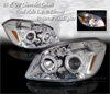 2007 Chevrolet Cobalt  Projector Head Lights (Chrome)