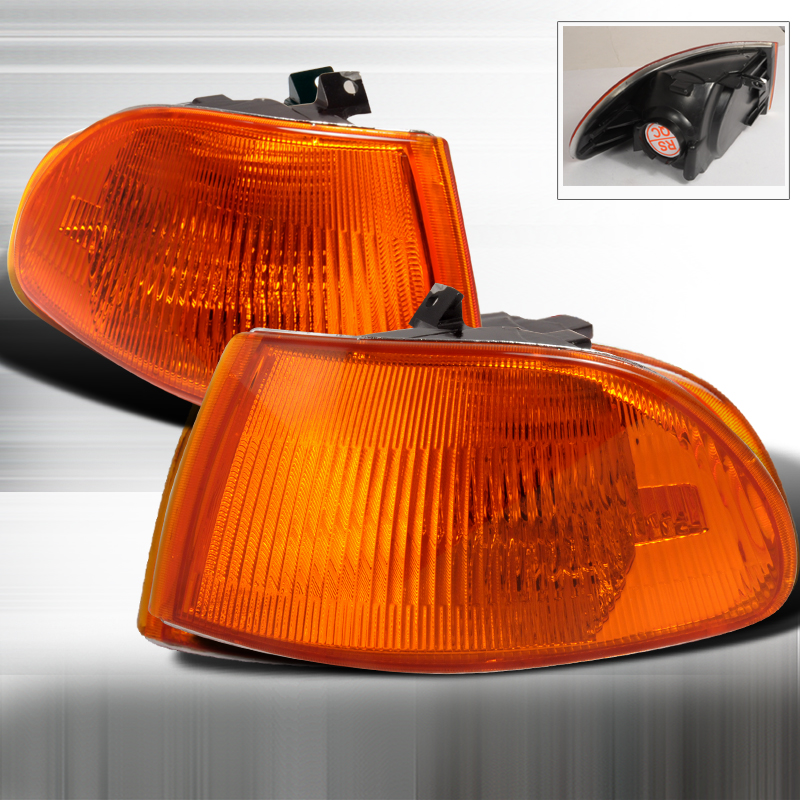 Honda Civic 1992-1995 Amber Corner Lights