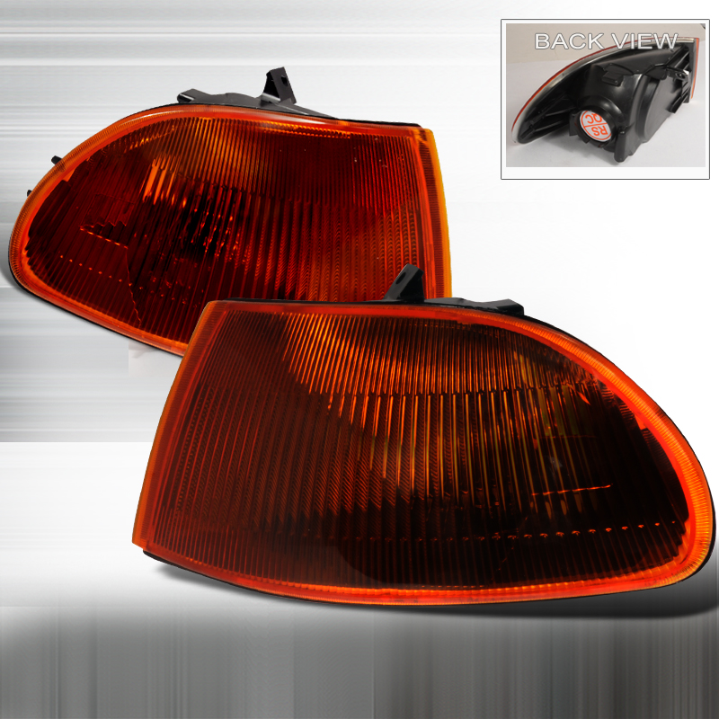 Honda Civic 1992-1995 Smoke / Amber Corner Lights