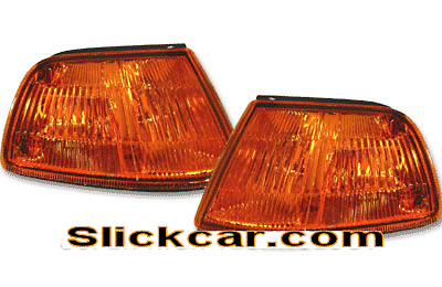 Honda Civic 4dr 88-89 JDM Style Amber Corner Lamp