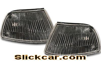Honda Civic 4dr 88-89 JDM Style Black Corner Lamp