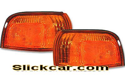 Honda Civic 4dr 92-95 JDM Style Amber Corner Lamp
