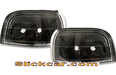 Honda Civic 4dr 92-95 JDM Style Black Corner Lamp