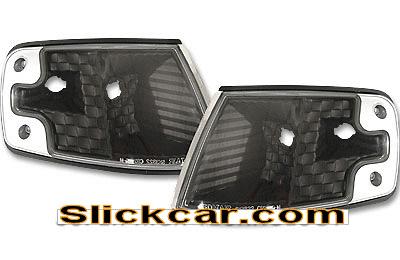 Honda CRX 88-89 JDM Style Black Corner Lamp