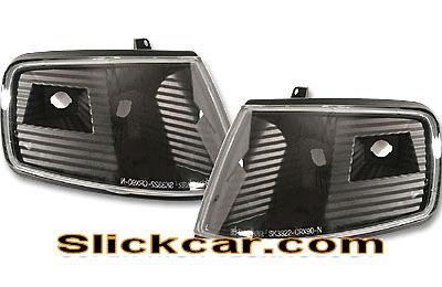 Honda CRX 90-91 JDM Style Black Corner Lamp