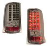 2004 Cadillac Escalade  LED Tail Lights Chrome/Smoked Lens
