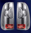 1997 Ford F150 Styleside  Chrome LED Tail Lights