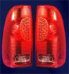 1997 Ford F150 Styleside  Red LED Tail Lights