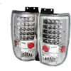 Ford Expedition 1997-2002 LED Tail Lights All Clear