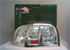1998 Ford Mustang  Chrome Clear LED Tail Lights
