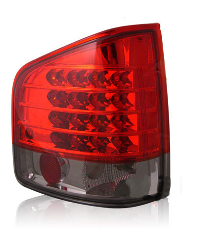 Chevrolet S-10 1994-2001 LED Tail Lights Red/Smoked
