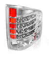 Chevrolet S-10 1994-2001 LED Tail Lights Chrome