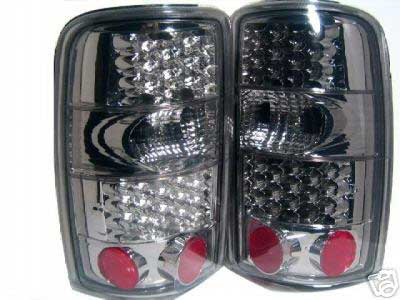 GMC Yukon / Denali 2000-2004 Smoked Lens LED Tail Lights