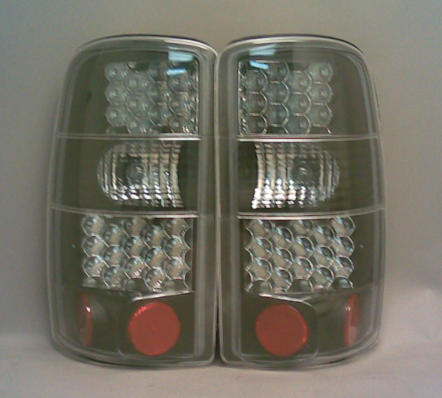 Chevrolet Tahoe 2000-2005 Black LED Tail Lights