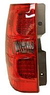 2007 GMC Yukon   - 2008 LED Tail Lights Red Smoked Lens