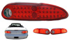 2002 Chevrolet Camaro  Red LED Tail Lights