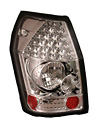 Dodge Magnum 05-06 Clear LED Tail Lights