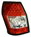 Dodge Magnum 05-06 Red LED Tail Lights