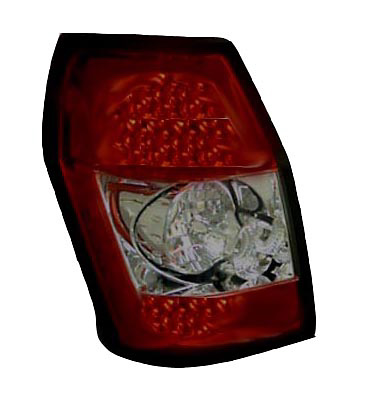 Dodge Magnum 05-06 Red w/ Smoked Lens LED Tail Lights