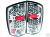 2002 Dodge Ram  Chrome LED Tail Lights