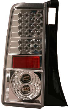 Scion XB 03-06 Chrome LED Tail Lights
