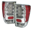 2004 Nissan Titan  Chrome LED Tail Lights