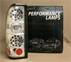 2001 Nissan Frontier  LED Tail Lights - Chrome