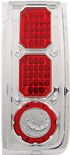 Hummer H2 03-06 Chrome LED Tail Lights