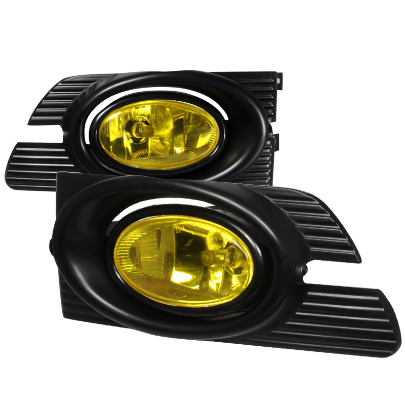 Honda Accord 4dr 2001-2002 Yellow OEM Fog Lights